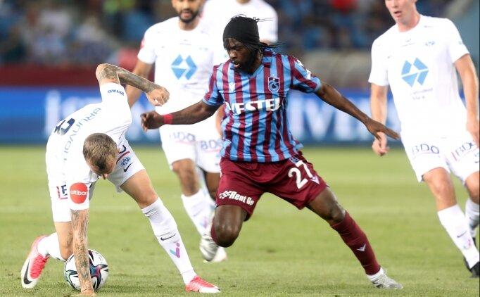 Trabzonspor - Molde düellosundan beraberlik çıktı!