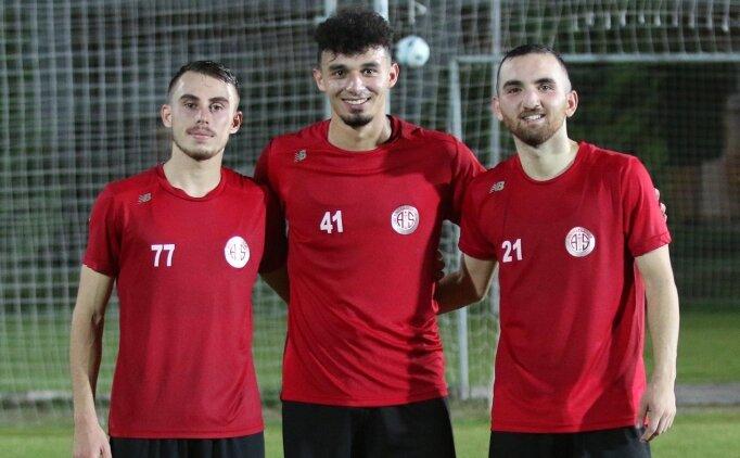 Antalyaspor, Ümit Milli Takıma çağrılan üç ismi kutladı
