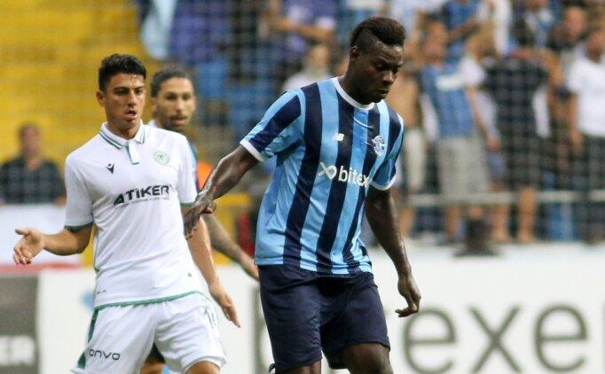 Adana Demirspor yine kazanamadı! Balotelli kulübeyi yumrukladı