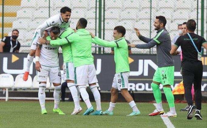 Konyaspor'dan Altay'a 3 gollü tarife!