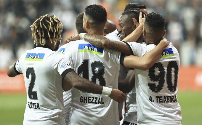 Beşiktaş'ta 11 isimden skora katkı