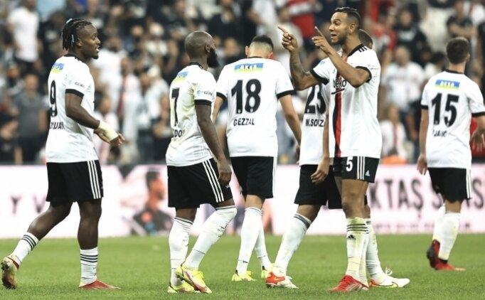 Beşiktaş'ta Adana Demirspor maçı kadrosu açıklandı!