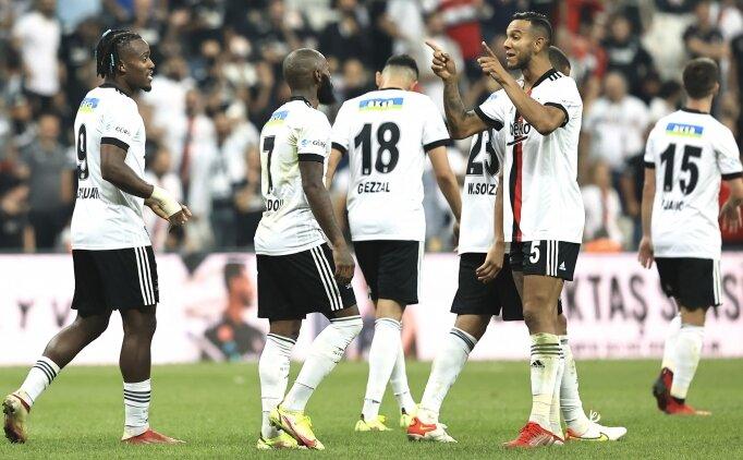 Beşiktaş'ta yıldızlar parladı!