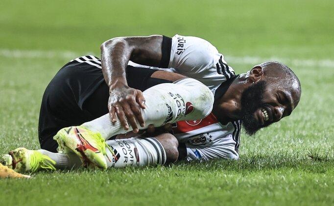 Beşiktaş'ta Dortmund öncesi sakatlık
