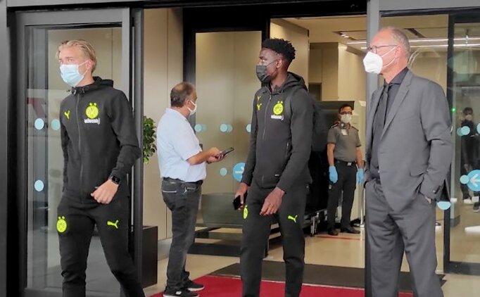 Dortmund, İstanbul'a geldi; 'Merhaba Beşiktaş'
