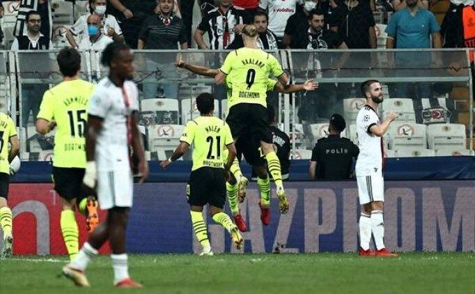 Beşiktaş ilk gollerini Şampiyonlar Ligi'nde yedi