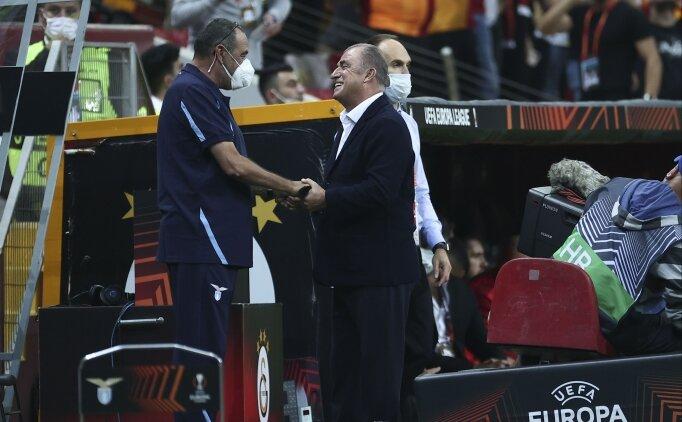 Herkes bu selamı konuşuyor! Maurizio Sarri ve Fatih Terim