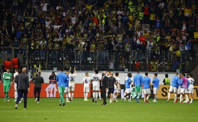 Fenerbahçe taraftarı Frankfurt'u Kadıköy'e çevirdi!