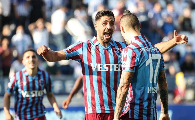 Trabzonspor'un golcüleri ligde 14 takıma bedel