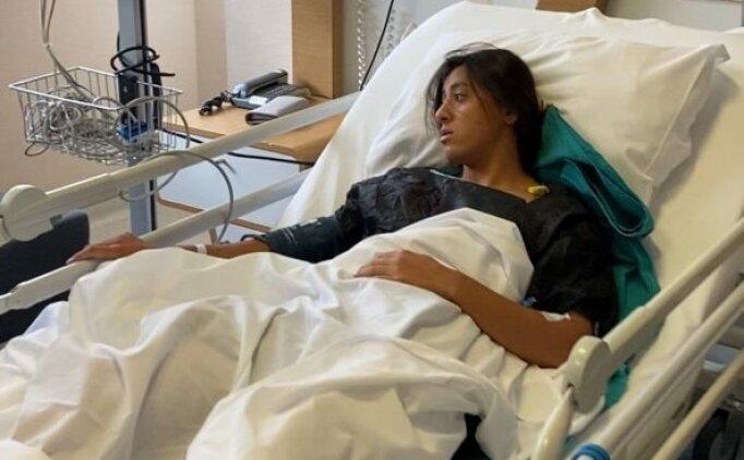 Dünya şampiyonu milli atlet Mizgin Ay, ameliyat edildi