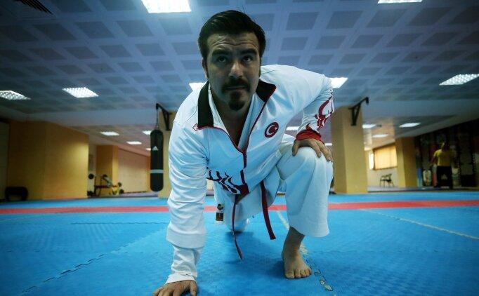 Avrupa şampiyonu işitme engelli karateci dünya şampiyonluğunu hedefliyor