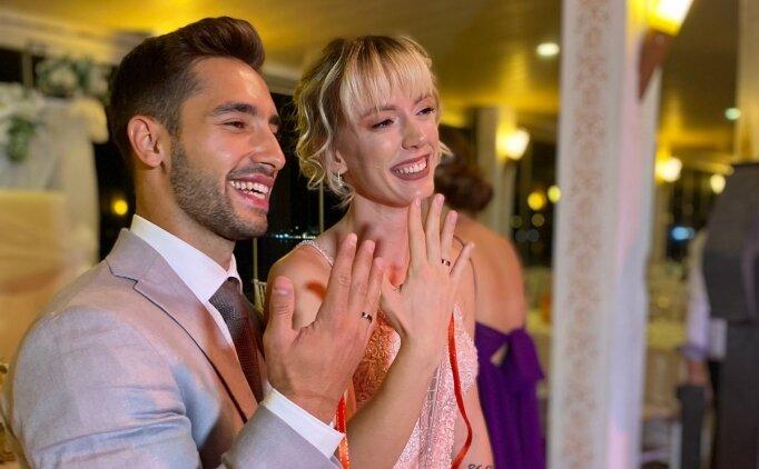 Dünya şampiyonu cimnastikçi İbrahim Çolak nişanlandı
