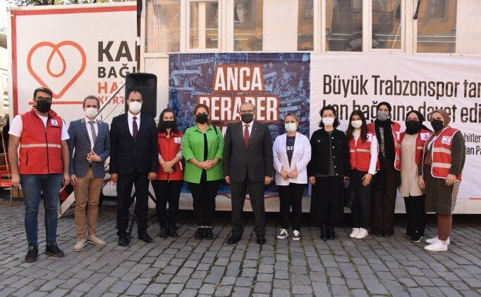 Trabzon'da kan bağışında bulunacak 1461 kişiye Trabzonspor forması hediye edilecek