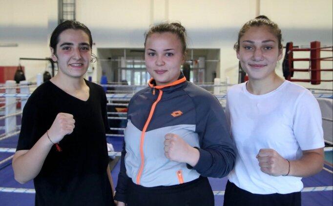 Dünya şampiyonluğu hedefleri Kovid-19'a takılan boksörler, yeni amaçlarını belirledi