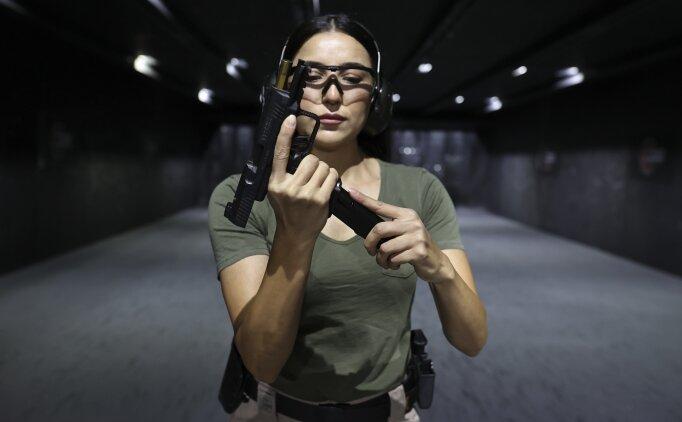Silahlar bu kez 'kadına şiddet'in son bulması için ateşlendi