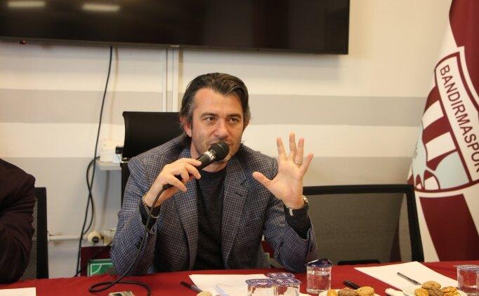 Bandırmaspor Başkanı Göçmez: 'MKE Ankaragücü karşısında hedefimiz galibiyet'