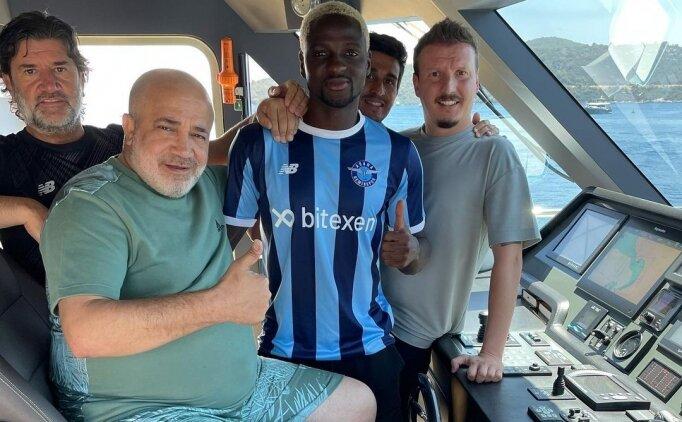 Adana Demirspor, Akintola'yı açıkladı