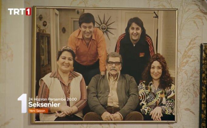 (24 Haziran Perşembe) TRT 1 Seksenler yeni bölüm oyuncuları izle