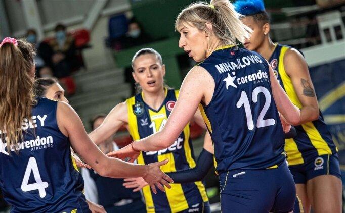 Fenerbahçe Opet, CEV Şampiyonlar Ligi'nde kazandı