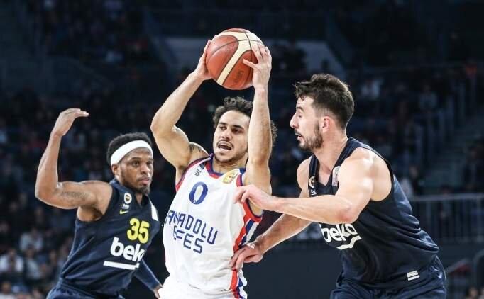 Anadolu Efes ve Fenerbahçe Beko'nun rakipleri belli oldu