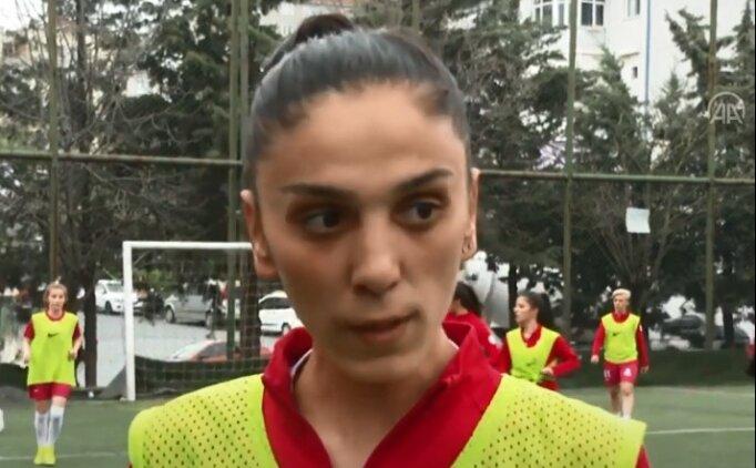 Ataşehir Belediyespor Kadın Futbol Takımı oyuncusu Eda Karataş'tan TFF'ye çağrı