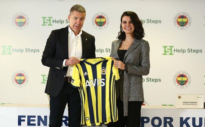 Fenerbahçeliler, Help Steps ile kulüplerine yürüyerek para kazandırıyor