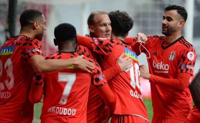 Beşiktaş Türkiye Kupası'nda finalde
