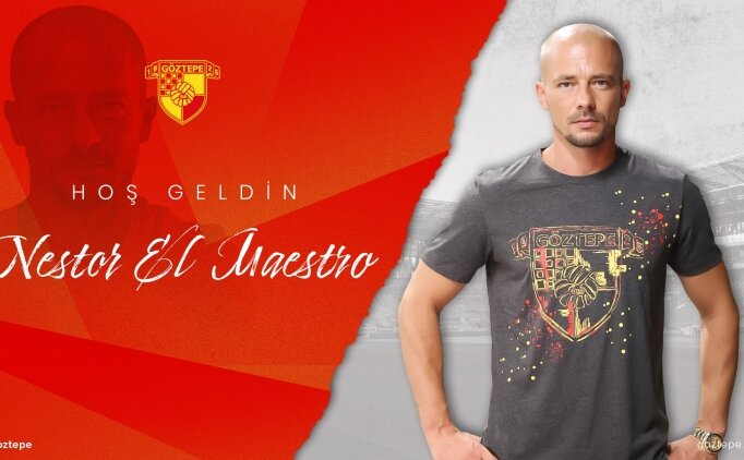 Göztepe'de yeni patron; Nestor El Maestro!