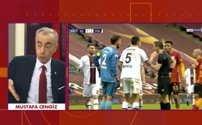 Mustafa Cengiz: 'Futbolcular haysiyetlerini, şereflerini hatırlasınlar'