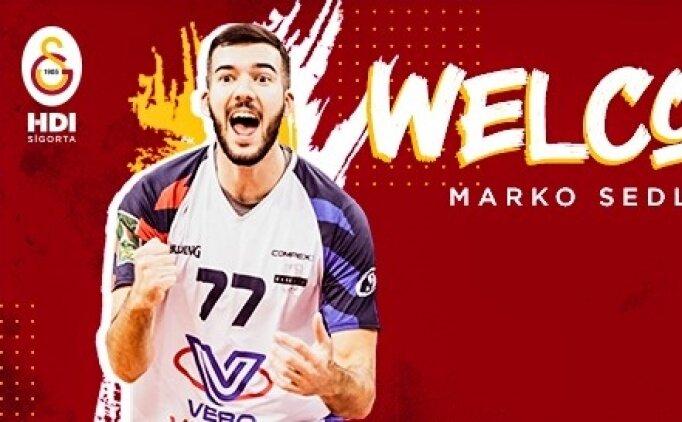 Galatasaray, Marko Sedlacek'i transfer etti