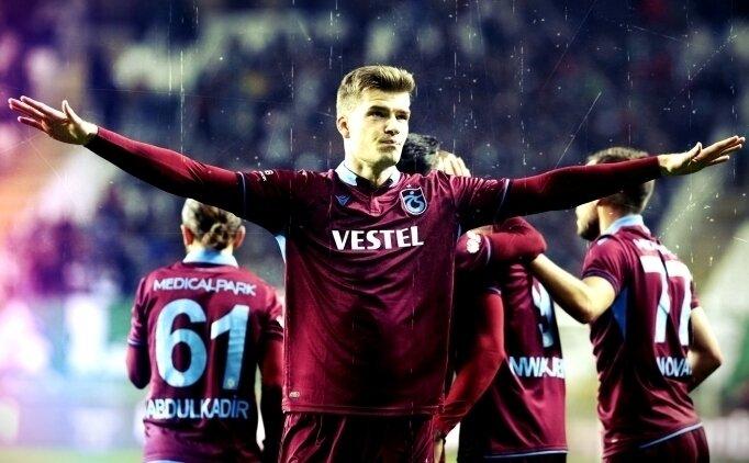 Trabzonspor'dan Sörloth'a; 'Gel Kral ol'