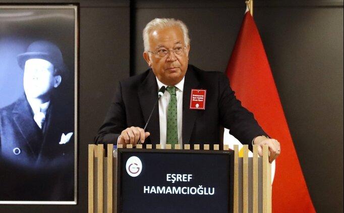 Eşref Hamamcıoğlu: 'Benim işim liderlik yapmak'
