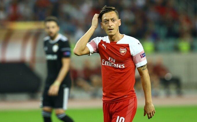 Mesut Özil Arsenal'de neden kadro dışı bırakıldı? Mesut Özil neden oynatılmadı? Sebebi