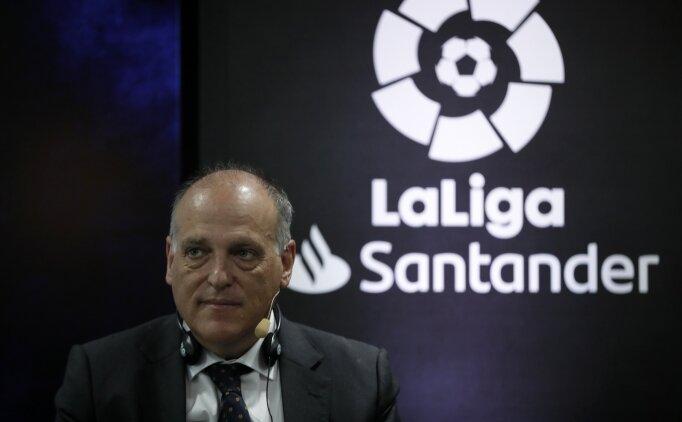 La Liga: 'Avrupa Süper Ligi'ne karşı tüm önlemleri alacağız'