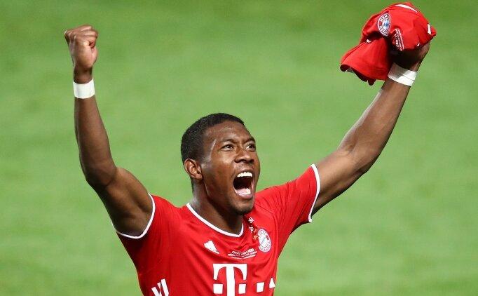 David Alaba: 'Bayern'den ayrılıyorum!'