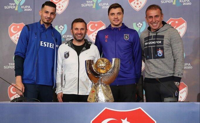 Başakşehir - Trabzonspor: İlk 11'ler