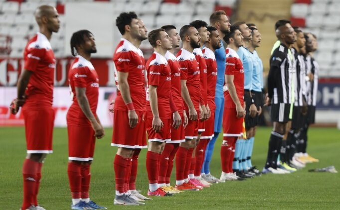 Antalyaspor - Beşiktaş: İlk 11'ler