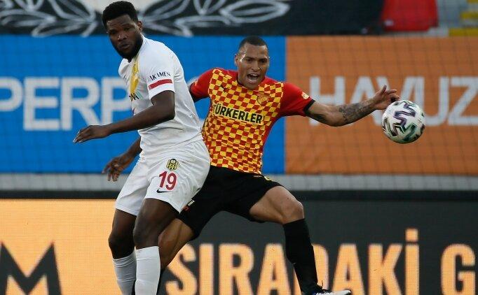 Gaziantep FK'da liste başı Benjamin Tetteh