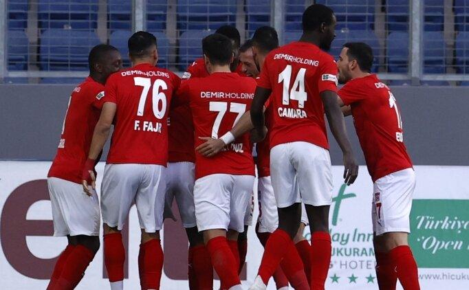 Sivasspor galibiyet hasretini sonlandırdı