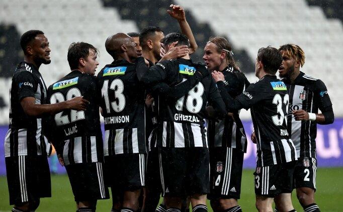 İlk 11'ler: Beşiktaş - Alanyaspor