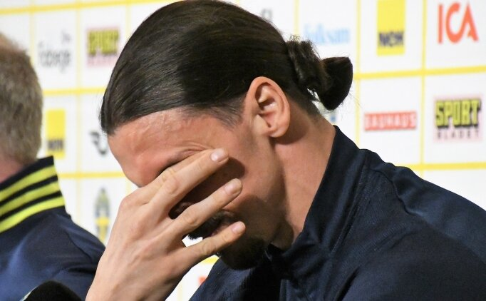 Zlatan Ibrahimovic, EURO2020'de yok!