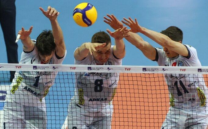 Arkas Spor'da hedef Efeler Ligi'nde finale yükselmek