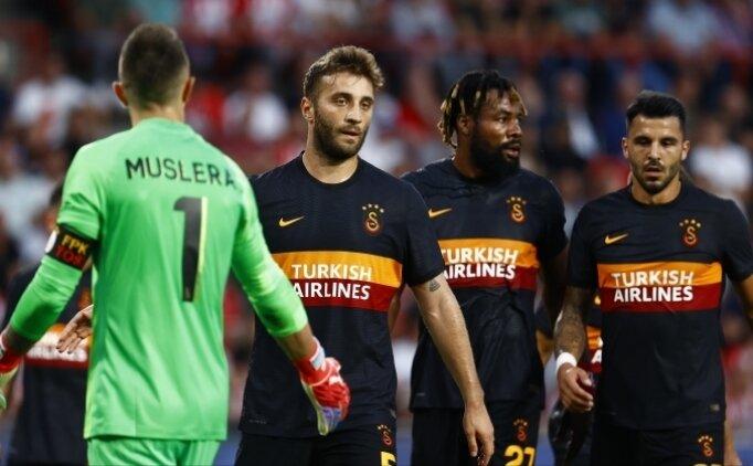 İlk 11'ler: Galatasaray - St. Johnstone