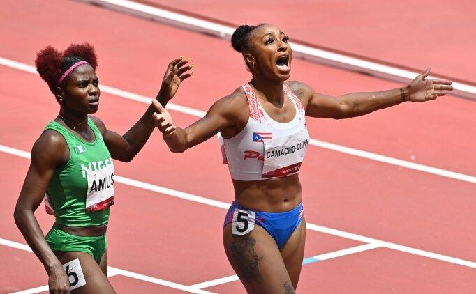 Kadınlar 100 metre engellide Camacho-Quinn farkı