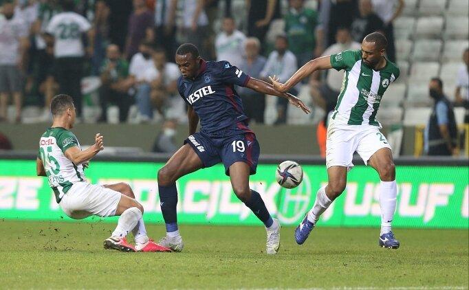 Fode Koita, Konyaspor maçında yok