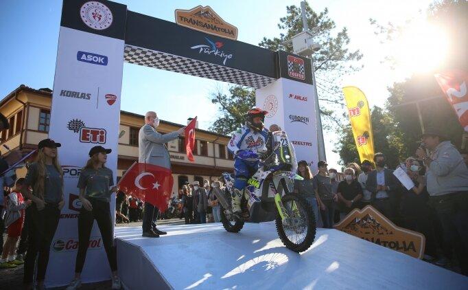 TransAnatolia Rally Raid'de sürücüler Çorum'a ulaştı