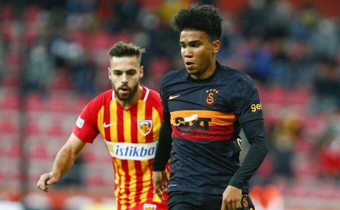 Galatasaray'da Assunçao sınavı geçemedi