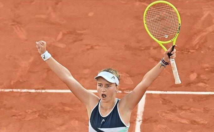 Fransa Açık Tenis Turnuvası'nda şampiyon Barbora Krejcikova
