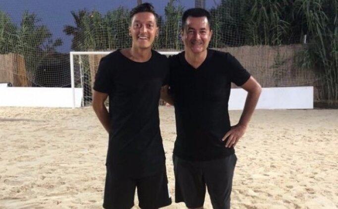 Acun Ilıcalı Mesut Özil için geldi