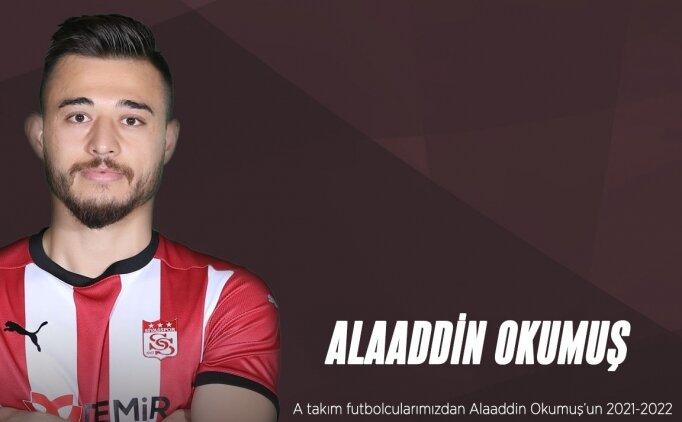 Samsunspor, Sivasspor'dan Alaaddin Okumuş'u kiraladı